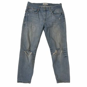 Zara Slim Boyfriend Jeans Venice Blue